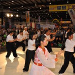 Master Amin Wu and Students performed Yang-style Tai Chi Chuan at the Sing Tao Expo 2012 in San Mateo, California