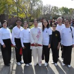 Master Amin Wu and students at the Lunar New Year Celebration  2014  in Millbrae, California