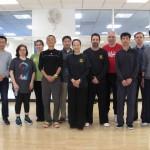 Amin Wu Tai Chi Class at Google 5/25/2016
