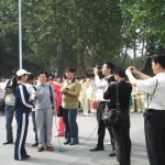 TV interview in Henan province China in 2005.