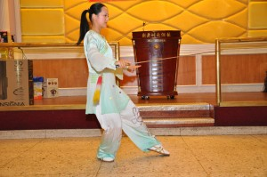 Tai Chi Sword Performance by Master Amin Wu